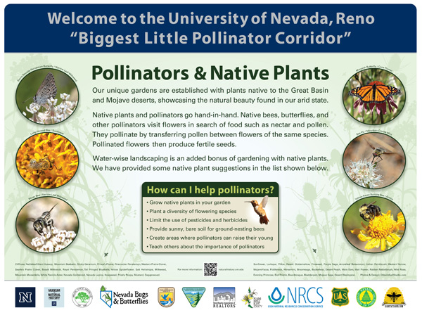 habitat tsigns  Pollinators Native Plants