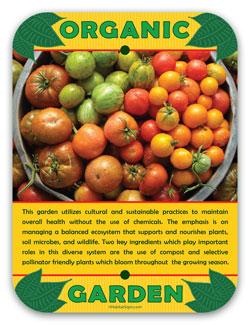 Organic Garden HabitatSigns.com