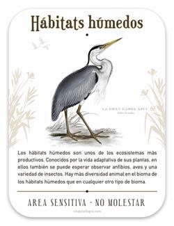 Wetland Habitat Sign