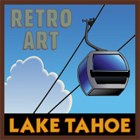 Lake Tahoe Retro Posters